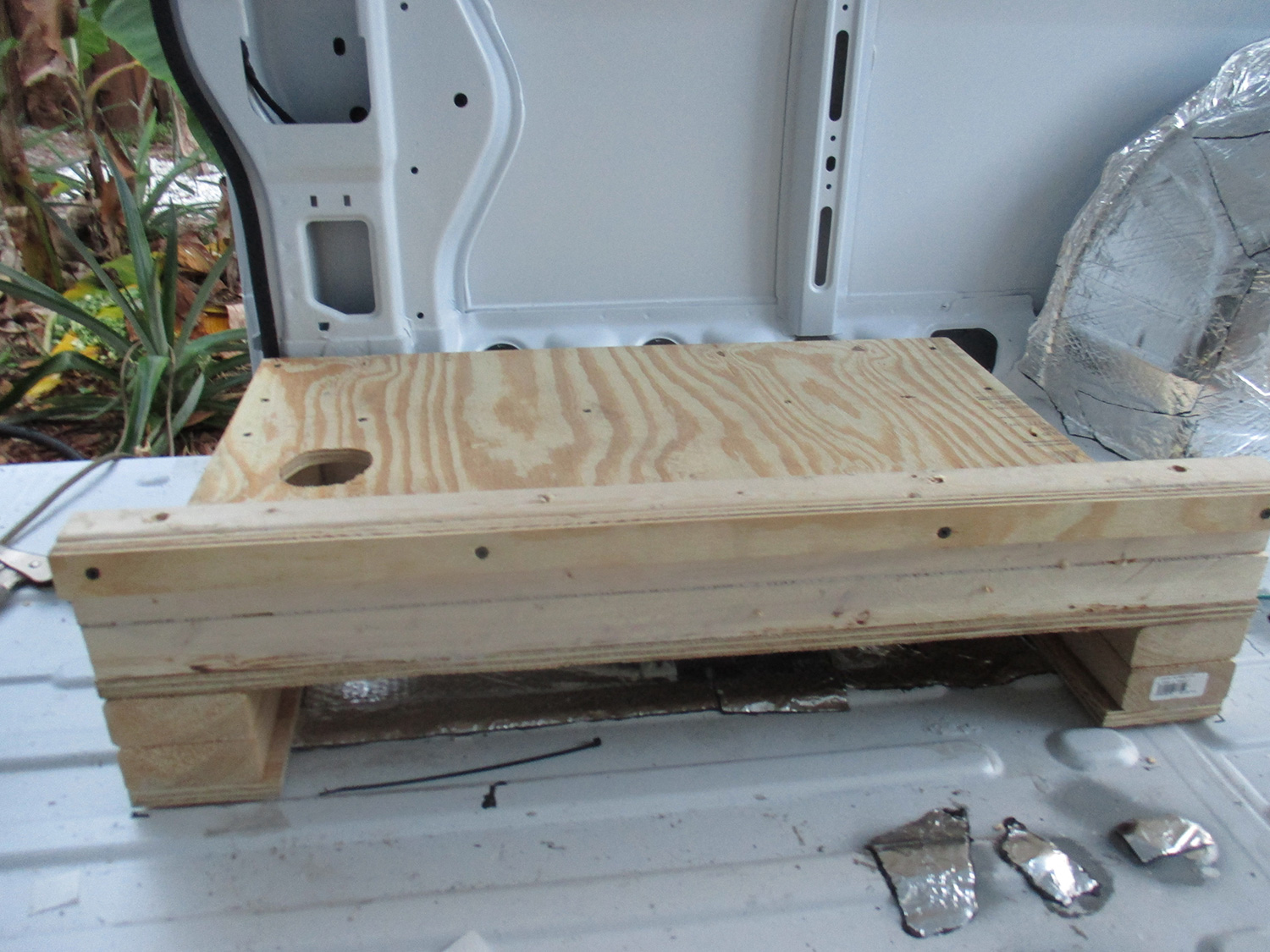 Building a Wet Bath and Shower into Promaster DIY Camper Van