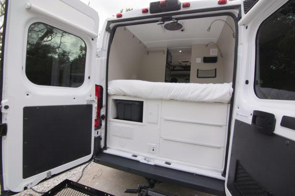 rear doors open